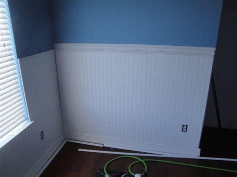 beadboard cap mr homeowner tear this wall upstairs nearing