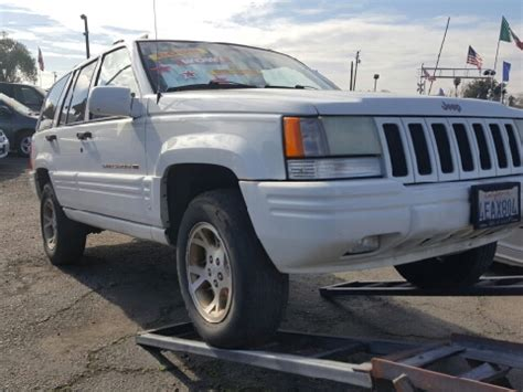 1998 Jeep Grand For Sale 1998 Jeep Grand For Sale California Carsforsale