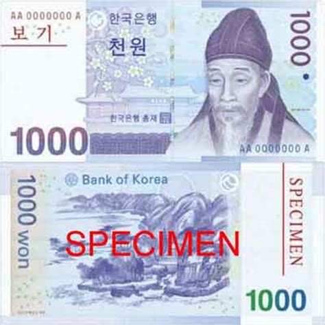 Currency Conversion South Korean Won To Indian Rupee Krw