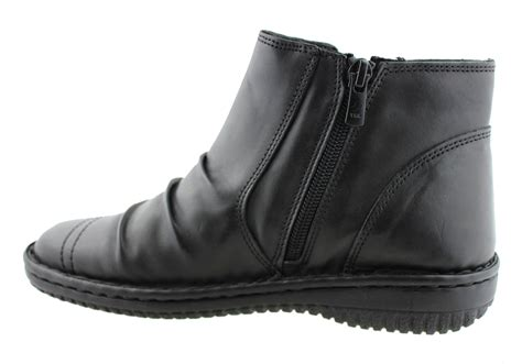 comfort ankle boots cabello comfort womens leather ankle boots brand house