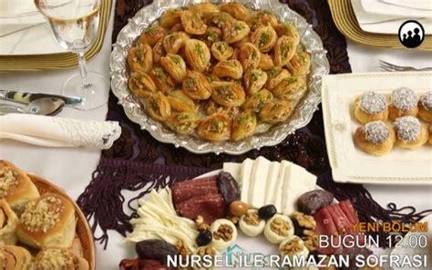 nursel ile ramazan sofrası halka 7 haziran nursel ile ramazan sofrası bursa nurselin