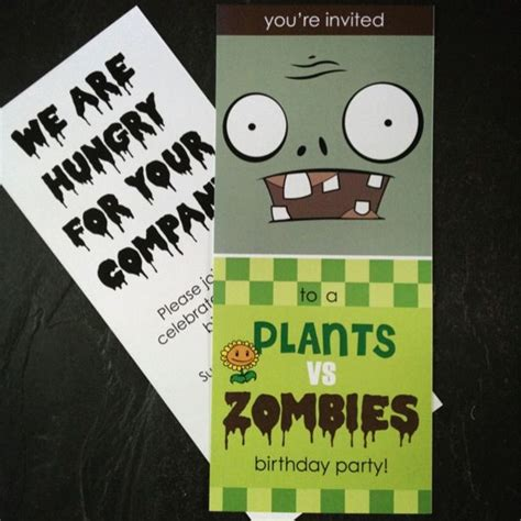 25 best images about plants vs zombies party theme on