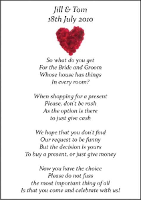 Wedding Poems by Wedding Money Poems X 75 Many Designs Vintage Wedding