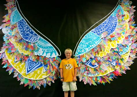 Angel Wall Murals cassie stephens in the art room kelsey montague inspired