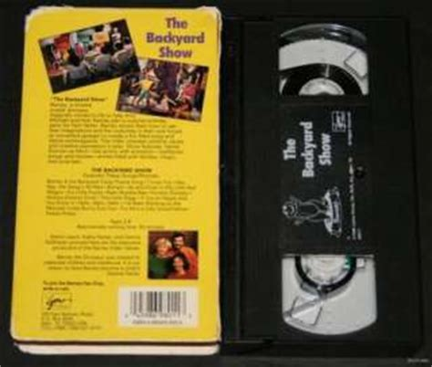 barney and the backyard gang previews barney goes to school backyard gang vhs 1990 sing along