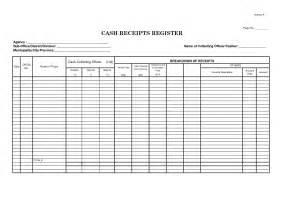 disbursement journal template 6 best images of receipts journal template