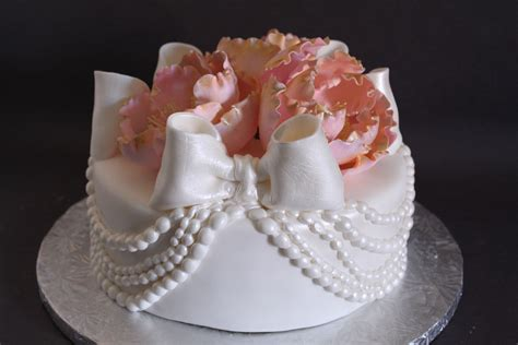 Pearl Cake draped pearl cake lil miss cakes