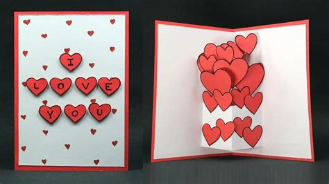 up cards to make how to make handmade birthday cards for lover step by step