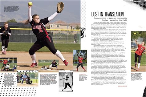 yearbook golf layout get new title make room for team picture yearbook 2014