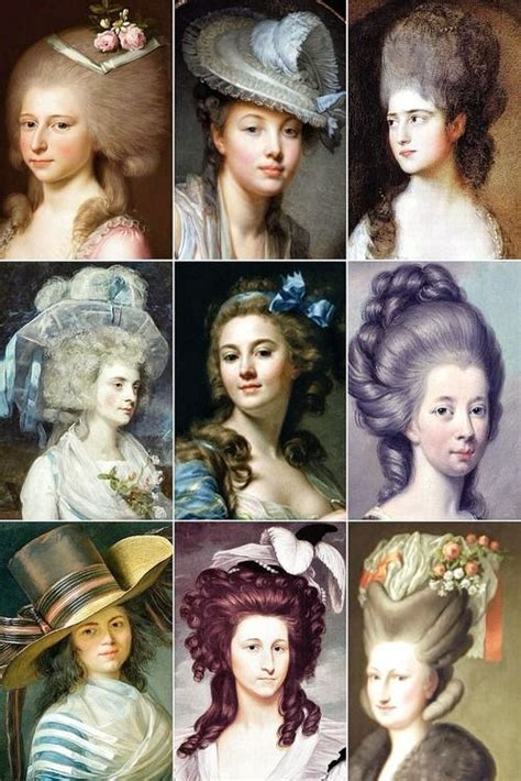 history of hairstyles in usa 18th century woman s hairstyles 18th century pinterest