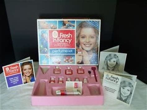 Fresh N Fancy 3 Susun vintage 1980 hasbro fresh n fancy perfume kit in box 80 s kid