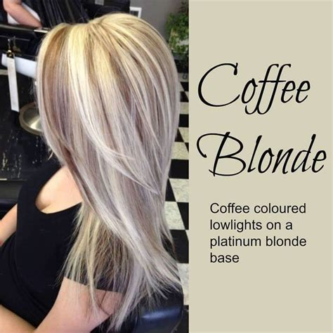 pictures of black hair with platinum blonde highlights coffee blonde hair platinum blonde hair with coffee
