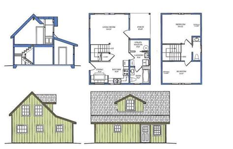 house plans alaska floor plan elevations pinterest
