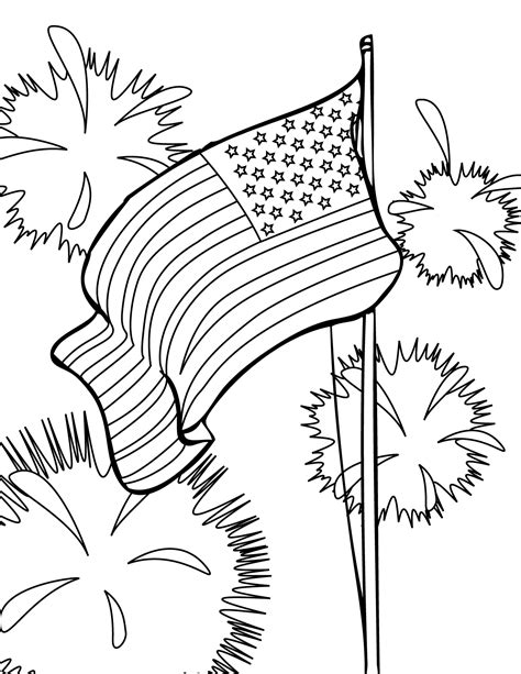 Fourth Of July Coloring Pages 4th of july coloring pages coloring pages to print