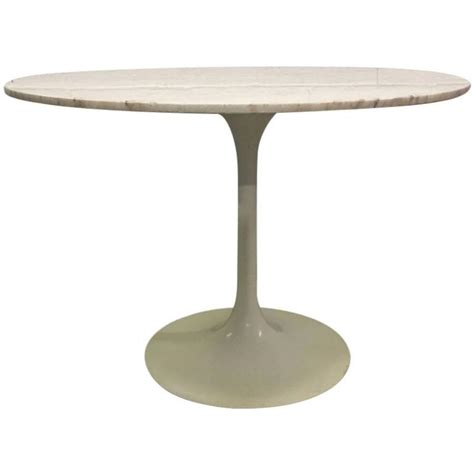 saarinen dining table by eero eero saarinen marble top dining table for sale at 1stdibs
