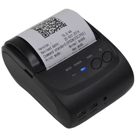 Printer Bluetooth Murah jual zjiang printer kasir bluetooth thermal android zj 5802 black di lapak acc sellular acescom
