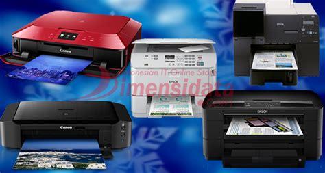 Harga Printer Inkjet Terbaik by Rekomendasi 5 Daftar Printer Inkjet Terbaik Terbaru 2018