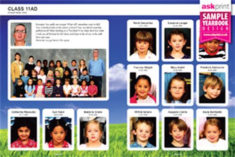 yearbook layout practice school yearbook sle layouts