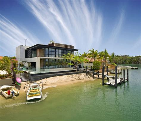 luxury homes noosa modern luxury home on australia coast by