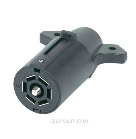 48505 7 pole rv blade plastic connector