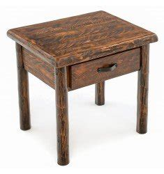 Rustic Western And Country End Tables Amp Log End Tables