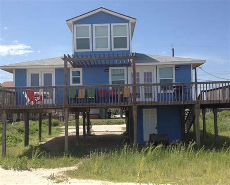 Great Beachfront Home Sea Isle Galveston Vrbo Galveston House Rentals By Owner