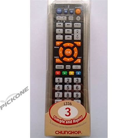 Chunghop Universal Learning Ir Remote L336 chunghop l336 learning universal remote contro remote