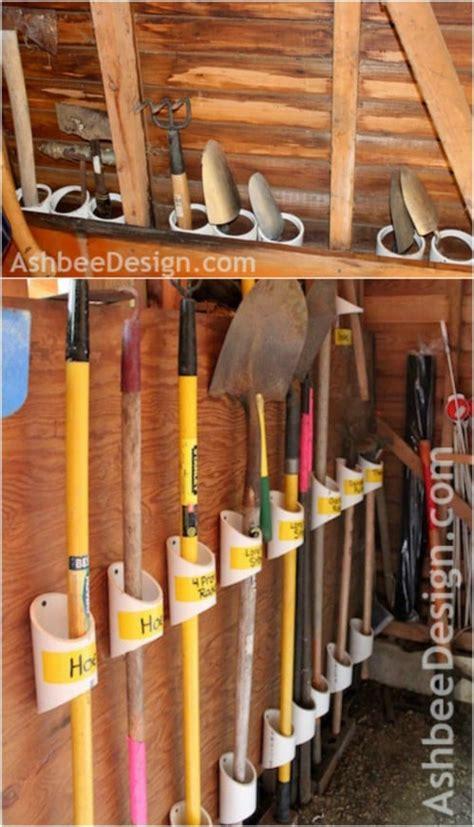 practical diy storage ideas  organize  lawn