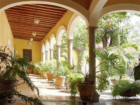 beautiful spanish hacienda in santa barbara huntto com mexican courtyard i like the arches hacienda love