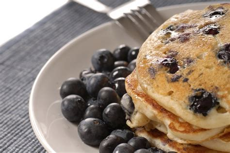 blueberry pancake blueberry protein pancakes recipes inbf canada