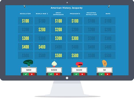 Jeopardy Rocks Create An Online Jeopardy Game In Minutes It S Free Easy And Loads Of Fun Jepardy Maker