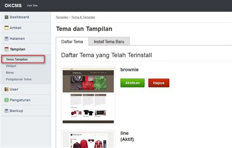 membuat web file sharing membuat website dengan okcms v 1 0 bg 4 tutorial web