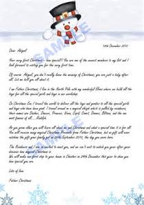 Charity Letter From Father Christmas robinson designs they have arrived letter from father christmas