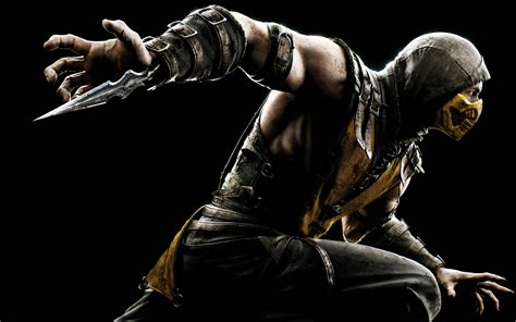mortal kombat x wallpaper hd android mortal kombat x scorpion wallpapers hd wallpapers id