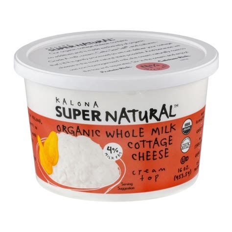 organic cottage cheese kalona organic whole milk cottage cheese