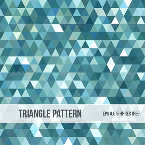triangle pattern indesign stock vector graphicriver abstract triangle background