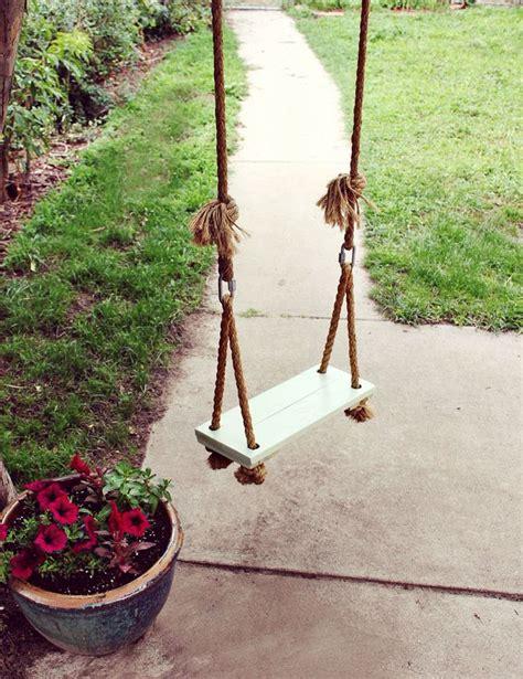 Diy Swing | diy garden swings the garden glove