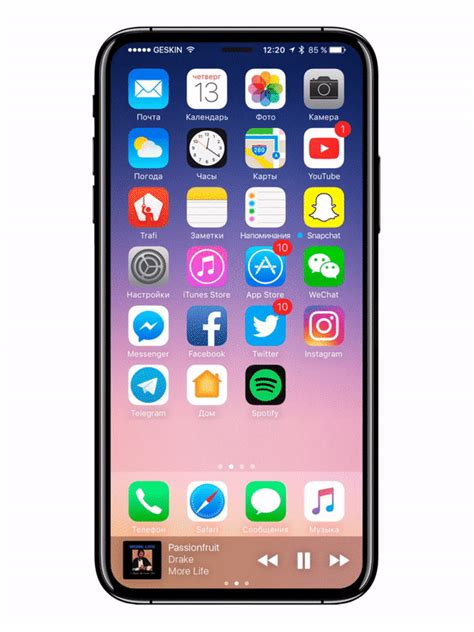 Full Vision Display Phone Upcoming | spectacular iphone 8 render pictures upcoming flagship