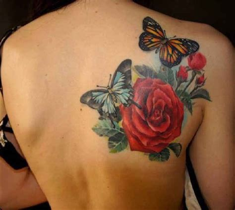 rose tattoo on shoulder blade 65 beautiful shoulder blade tattoos