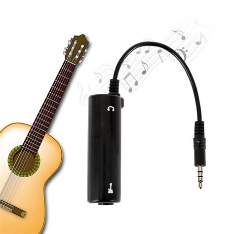 Adaptor Guitar guitar effects guitar link audio interface system pedal converter adapter cable for iphone