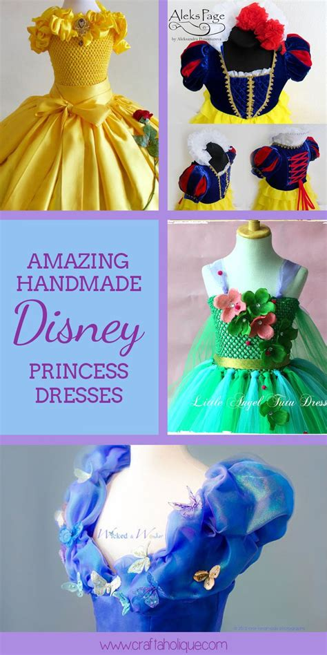 Handmade Disney Princess Dresses - 25 best ideas about disney princess tutu on