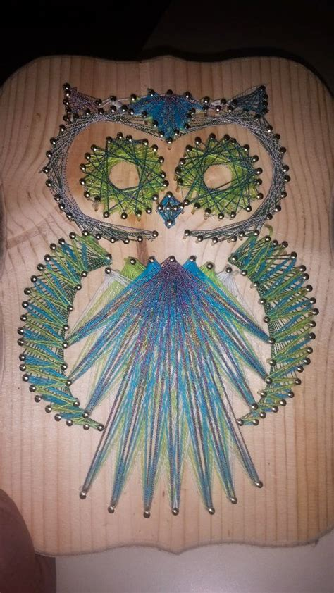 string art pattern owl 106 best images about owl stringart uil draadkunst on