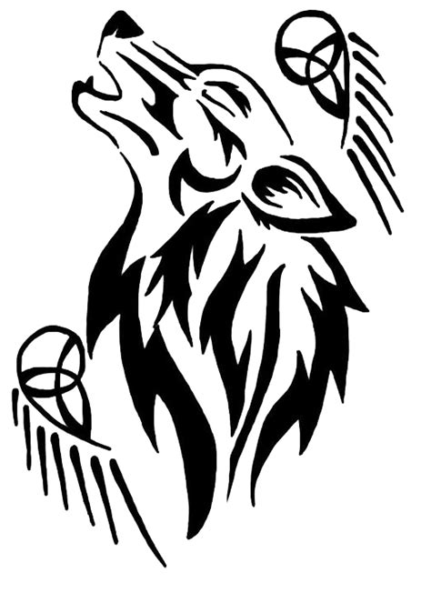 tribal pattern png tribal wolf tattoo by eruraina on deviantart
