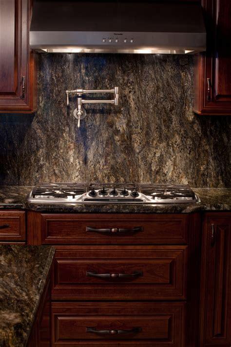 cherry cabinets with dark granite saturnia granite modern kitchen dc metro by
