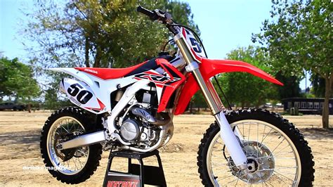 honda motocross bikes 2016 honda crf450 dirt bike magazine youtube