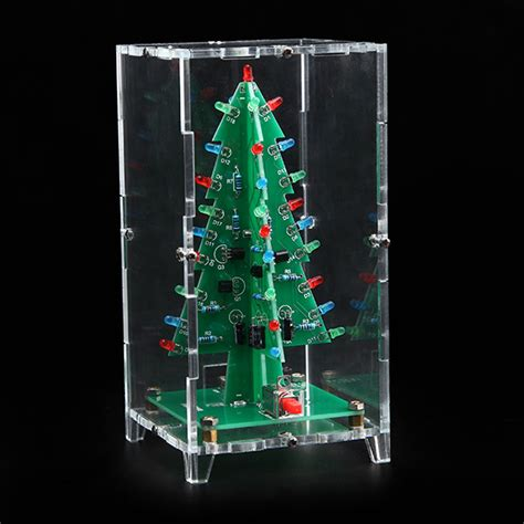 electronic components christmas tree led flash kit with