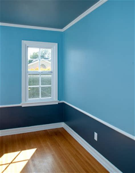 Blue Wall Paint by The Blue Color In Wall Paint