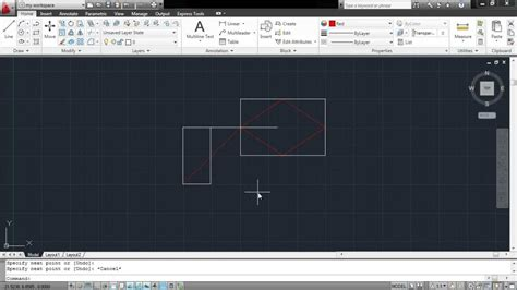 how to work with the autocad object snap option