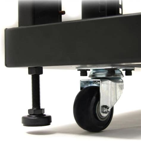 Cabinet Casters by 22u 36in Knock Server Rack Cabinet With Casters Ebuyer