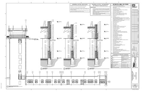wall section drawings 13th cab control tower ft carson co ben schwarz
